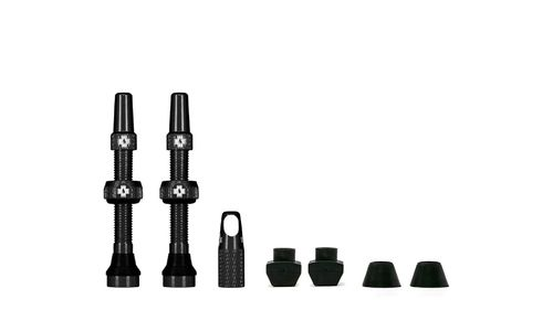 Muc-Off Tubeless Valve Kit 44 mm, Black (1 pair)