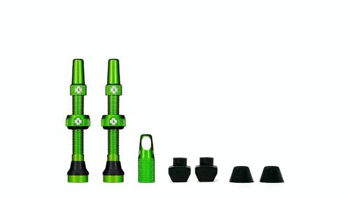 Muc-Off Tubeless Valve Kit 44 mm, Green (1 pair)