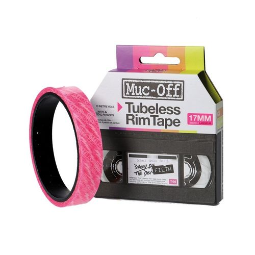 Muc-Off Tubeless Rim Tape 17 mm, 10 m roll