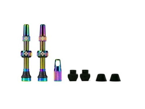 Muc-Off Tubeless Valve Kit 44 mm, Iridescent (1 pair)